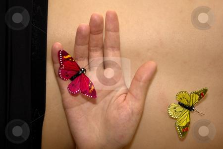 Butterflys stock photo, Butterflys in woman body by Rui Vale de Sousa