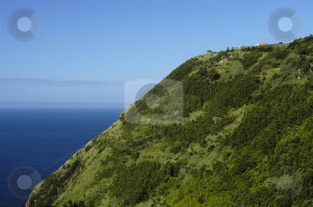Cliff stock photo, Azores coastal view by Rui Vale de Sousa