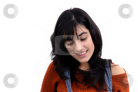 Teen stock photo, A portrait of a beautiful young woman by Rui Vale de Sousa