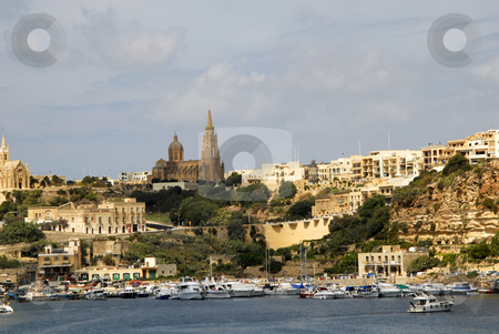 Malta stock photo, Ancient architecture of gozo island in malta by Rui Vale de Sousa