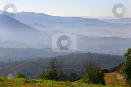 House stock photo, House on the mountains by Rui Vale de Sousa