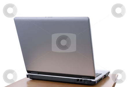 Laptop stock photo, A personal computer iisolated on white background by Rui Vale de Sousa