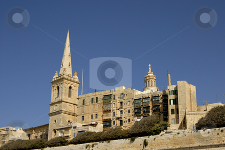 Valleta stock photo, Old town of Valleta in the island of Malta by Rui Vale de Sousa