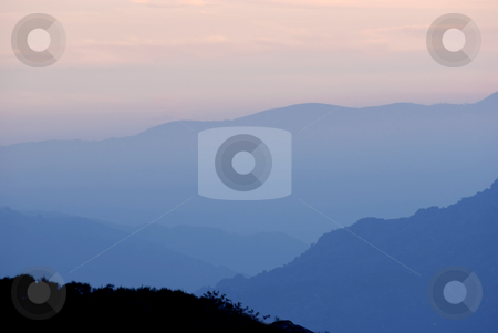 Mountains stock photo, Mountains layers at the portuguese national park by Rui Vale de Sousa