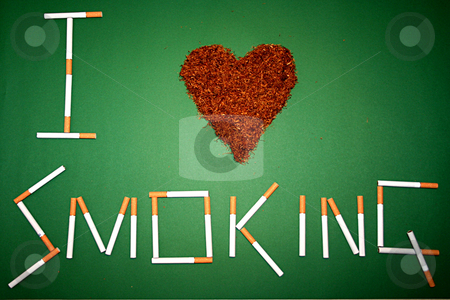 Love smoking stock photo,  by Andrei Prakharevich