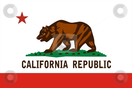 California Flag stock photo, Very large 2d illustration of California Flag by Tudor Antonel adrian