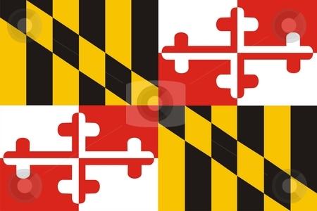 Maryland Flag stock photo, Very large 2d illustration of Maryland Flag by Tudor Antonel adrian