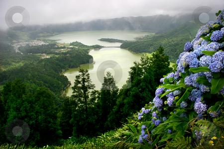 Azores stock photo, Azores lakes by Rui Vale de Sousa