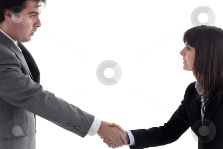 Deal stock photo, Business partners are shaking hands on a deal by Rui Vale de Sousa