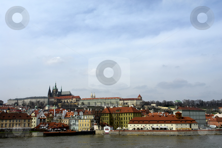Charles bridge stock photo, Ancient charles bridge in the city of prague by Rui Vale de Sousa