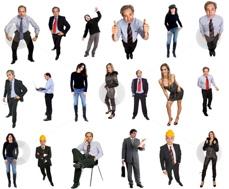 People stock photo, People in studio, individual images available at higher resolution by Rui Vale de Sousa