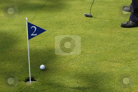 Golf stock photo, Golf player detail by Rui Vale de Sousa