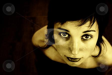 Woman stock photo, Digital art with a beautiful woman portrait by Rui Vale de Sousa