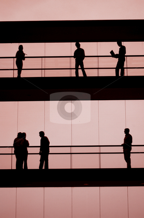 Workers stock photo, Workers in the building by Rui Vale de Sousa