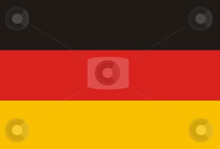 Flag stock photo, Germany flag illustration by Rui Vale de Sousa
