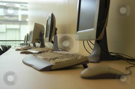 Computer stock photo, Computer room by Rui Vale de Sousa
