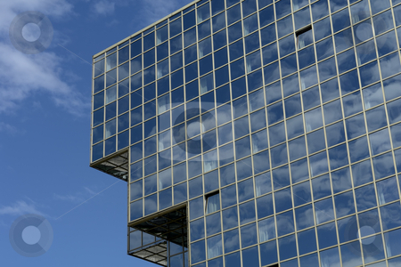 Building stock photo, Modern office building and the blue sky by Rui Vale de Sousa