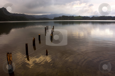 Lake stock photo, The lake of furnas in azores island of sao miguel by Rui Vale de Sousa