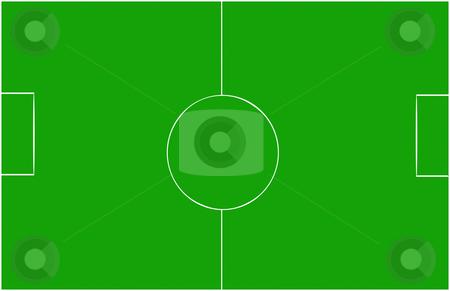 Soccer field stock photo, Soccer field illustration by Rui Vale de Sousa