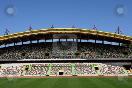 Stadium stock photo, Portuguese euro soccer stadium of FC Leiria by Rui Vale de Sousa