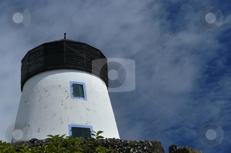 Windmill stock photo, Azores windmill by Rui Vale de Sousa