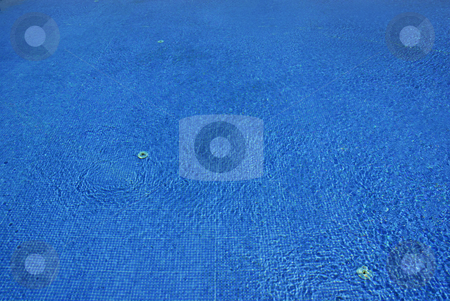 Blue water stock photo, Swimming pool blue water detail with textures by Rui Vale de Sousa