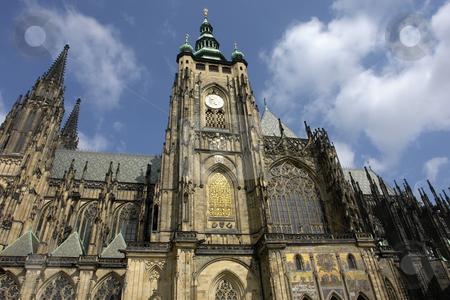 Church stock photo, St vitus cathedral in prague, czech republic by Rui Vale de Sousa