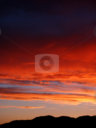 Sunset stock photo, Sunset at the mountain by Rui Vale de Sousa