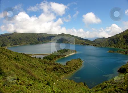 Lake stock photo, Lake in the mountains by Rui Vale de Sousa