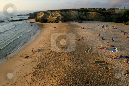 Beach stock photo, Beach in Portugal by Rui Vale de Sousa