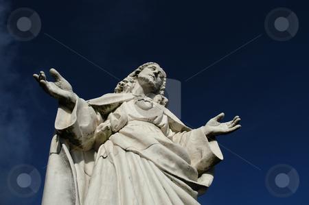 Christ stock photo, Christ statue by Rui Vale de Sousa