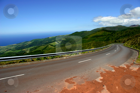 Road stock photo, Road in the mountains by Rui Vale de Sousa
