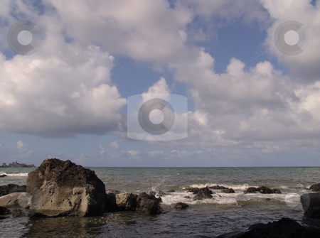 Beach stock photo, Coast rocks in azores by Rui Vale de Sousa