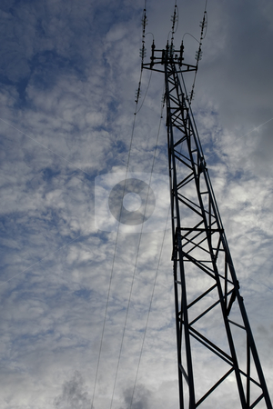 Tower stock photo, Electricity conductor by Rui Vale de Sousa
