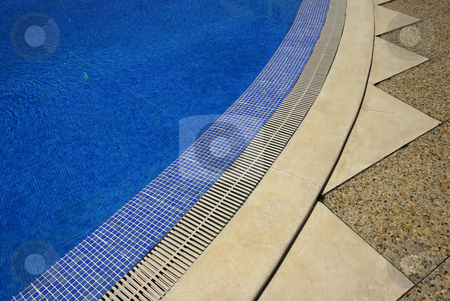 Blue stock photo, Swimming pool water by Rui Vale de Sousa