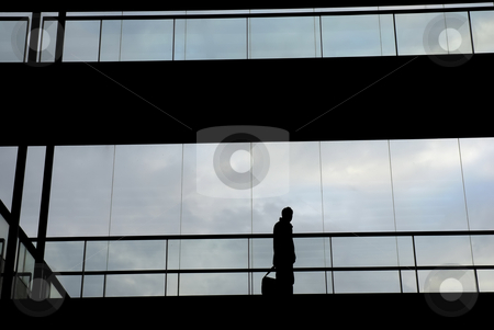 Business stock photo, Young business man in the office building by Rui Vale de Sousa