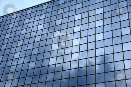 Glass stock photo, Modern building in prague by Rui Vale de Sousa