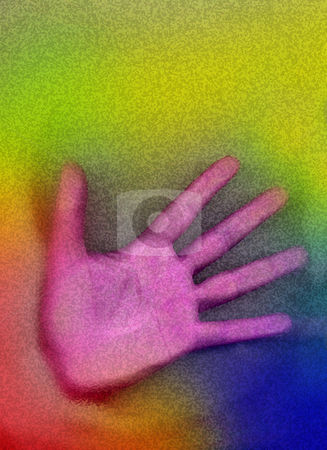 Hand stock photo, Computer worked hand by Rui Vale de Sousa