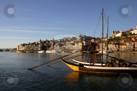 Oporto stock photo, Typical boat at oporto city on the north of portugal by Rui Vale de Sousa