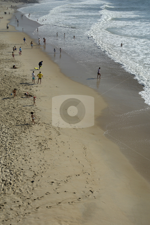 Beach stock photo, Beach from above by Rui Vale de Sousa