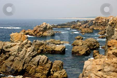 Coast stock photo, Rocks of the portuguese coast by Rui Vale de Sousa