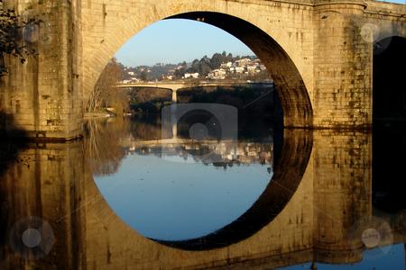 Bridge stock photo, Ancient portuguese bridge by Rui Vale de Sousa