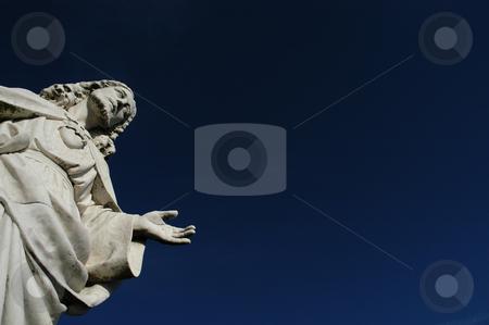 God stock photo, Christ statue by Rui Vale de Sousa