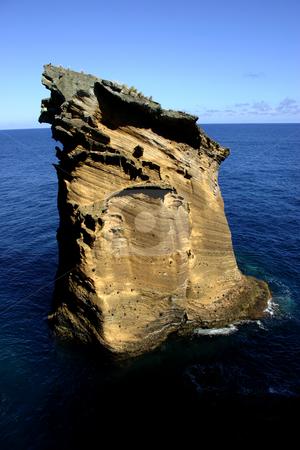 Rock stock photo, Rock at the coast by Rui Vale de Sousa