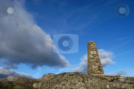 Top stock photo, Top pf the mountain mark by Rui Vale de Sousa