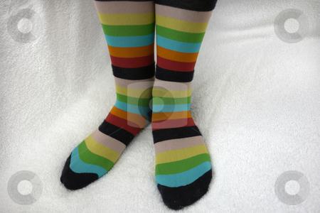 Socks stock photo, Girl wool socks by Rui Vale de Sousa