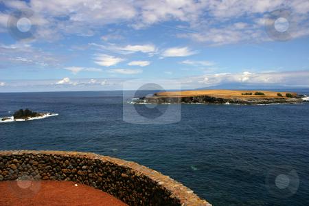Island stock photo, Small island on the azores coast by Rui Vale de Sousa