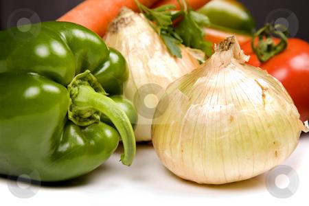 Vegetables stock photo, Set of different fresh vegetables, studio picture by Rui Vale de Sousa