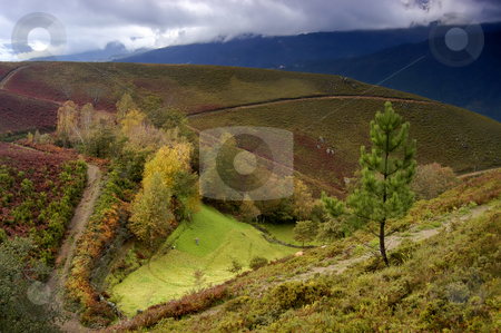 Autumn stock photo, Autumn landscape by Rui Vale de Sousa