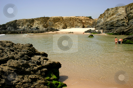 People stock photo, People on the beach by Rui Vale de Sousa